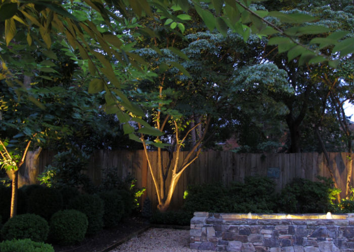 Old Town Alexandria Landscape Lighting
